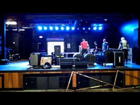 Time lapse load-in for Queensryche at Music Farm in Columbia SC