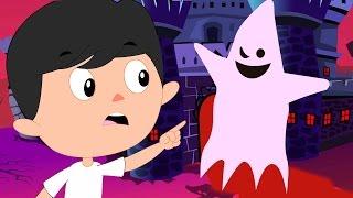 Dia das bruxas Noite | Rimas de berçário | crianças canção | Halloween Night | Scary Song For Kids