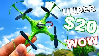 CRAZY Cheap 3D Quadcopter Inverted Flight Under $20 Eachine H8S Review - TheRcSaylors
