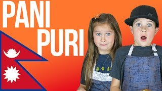 American Kids Try Pani Puri