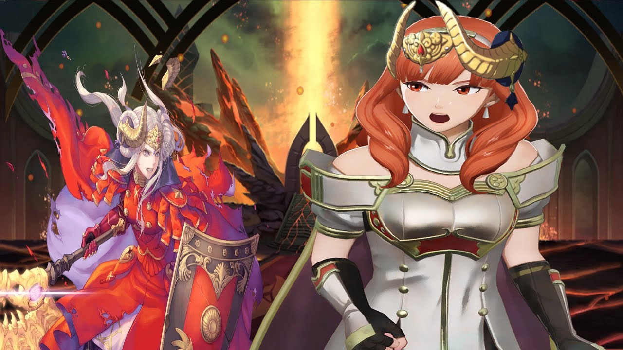 Fire Emblem Heroes - Legendary Alm Abyssal - YouTube
