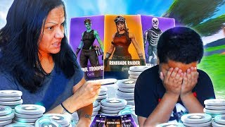 Addicted 10 year old kid gets grounded from playing fortnite...(MOM MAKES KID RAGE!) *FUNNY*