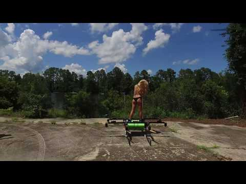 Woman Flying on a drone Jeff Elkins vipe6000@gmail.com