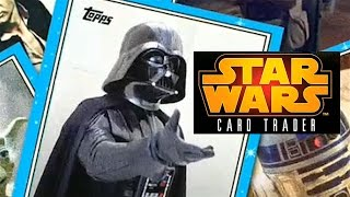 Star Wars: Card Trader | Collect Star Wars Cards on your iPhone & $100 iTunes GIVEAWAY!