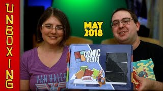 UNBOXING! Comic Bento May 2018 - NUMBER CRUNCHING - Graphic Novel Subscription Box