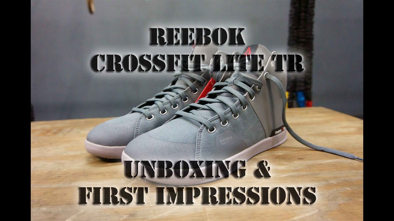 8802969b3d00 Unboxing the Reebok CrossFit Lite TR 2.0 - Best CrossFit Powerlifting Shoes  - YouTube