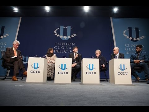 The Wisdom of Failure: CGI U 2012 Plenary Session