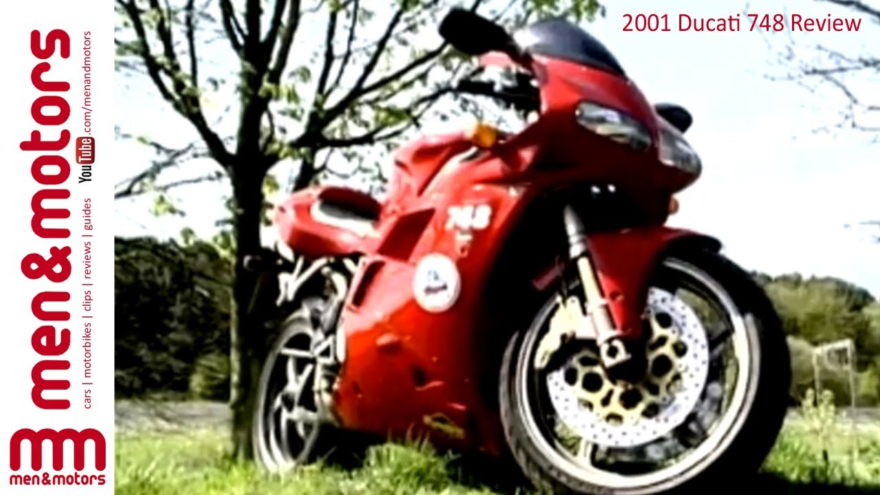 2001 ducati 748 review - youtube