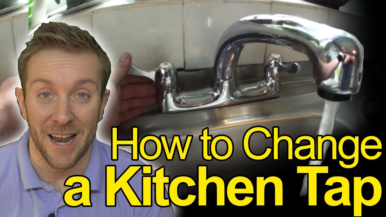 how to change bathroom sink taps how to change a kitchen tap plumbing tips 25341