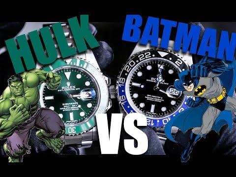 Rolex HULK VS BATMAN thumbnail