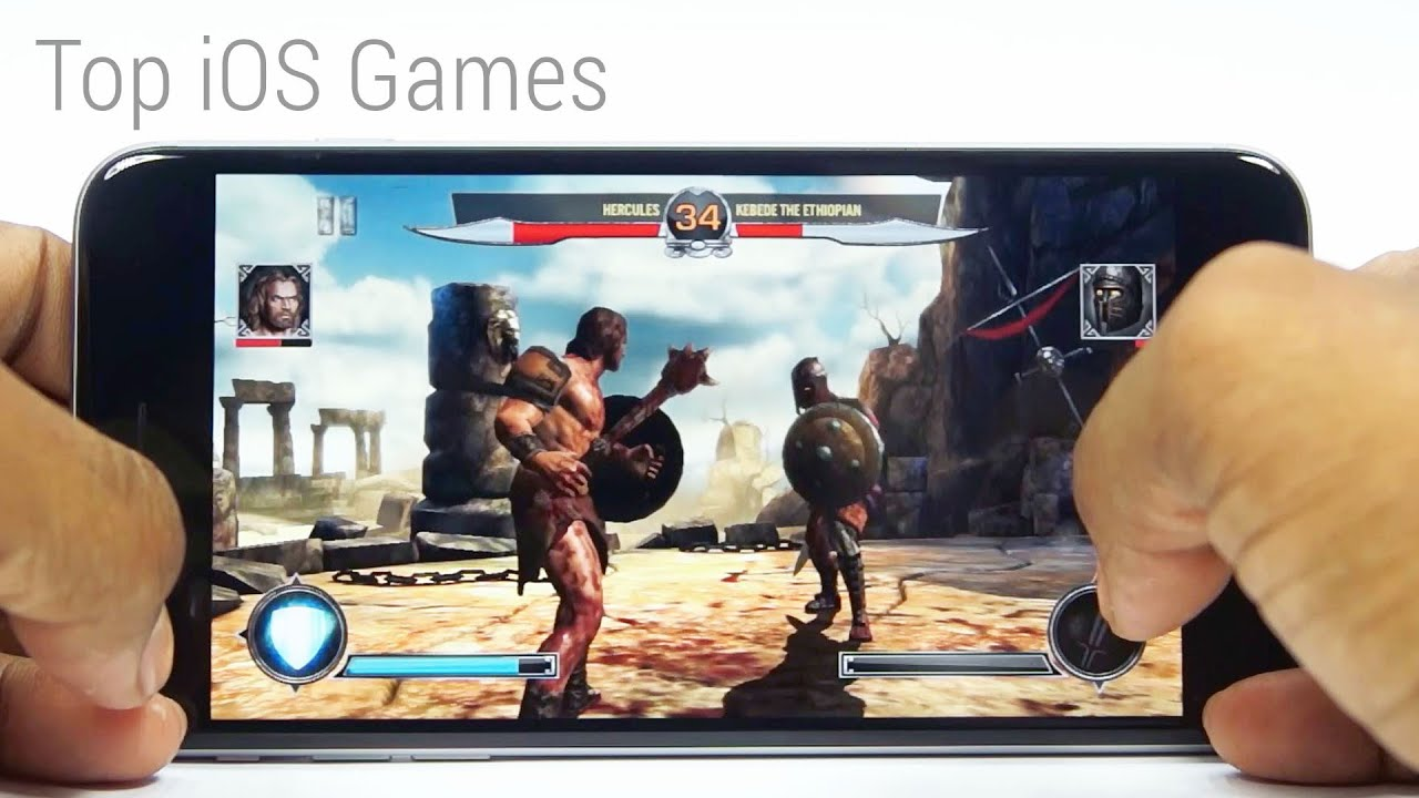 Top 10 HD Games  Free  for your iPhone 6 Plus   Games4iOS  3   YouTube
