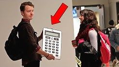 The Giant Calculator Prank!