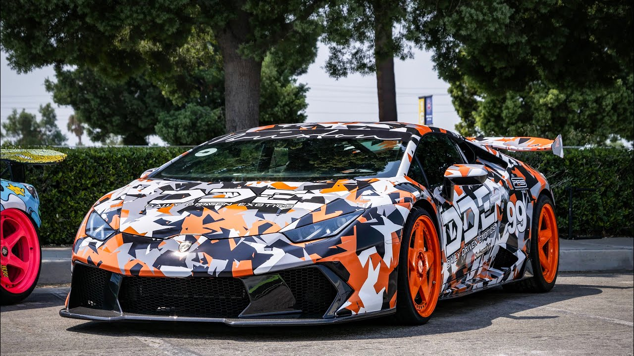 Revealing My Lamborghini Aventador Svj Camo Inspired Design Youtube