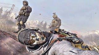 Call of Duty Modern Warfare 2 - Ghost & Roach Death Scene (COD MW2)