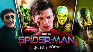 All Five Villains in Spider-Man: No Way Home