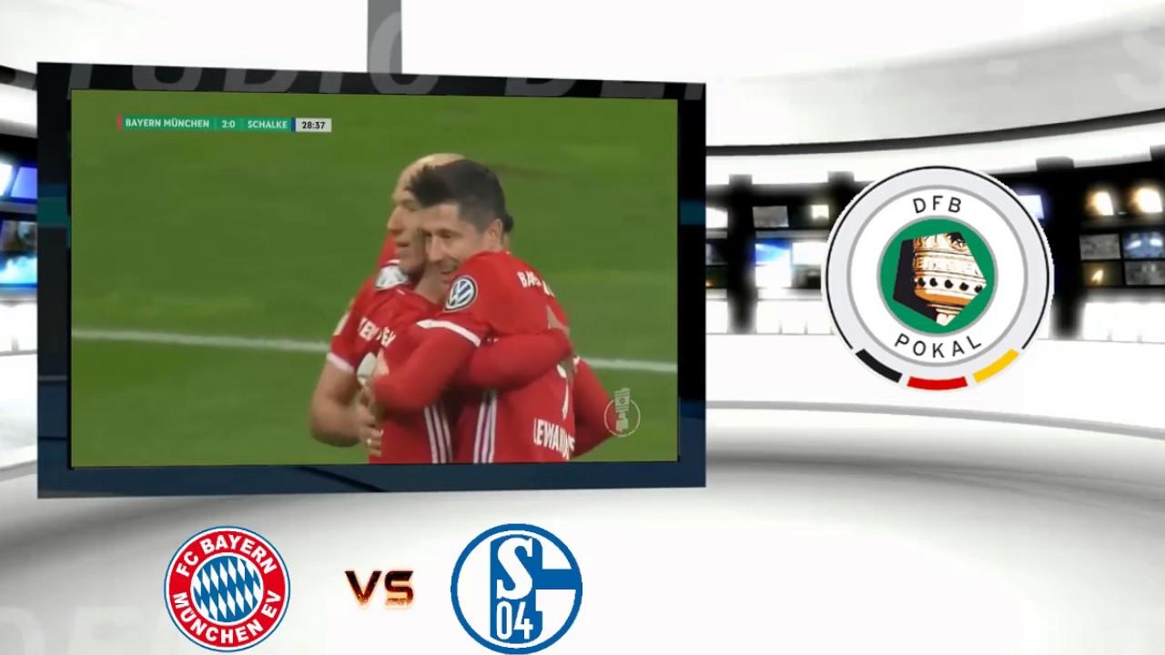 Download FC Bayern 3 - 0 Schalke 04 | DFB Pokal 2017