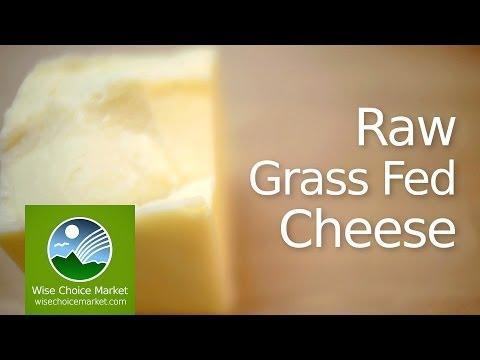 Raw Grass Fed Cheese - Wise Choice Market