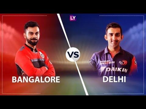 VIVO IPL 2018 Royal Challengers Bangalore vs Delhi Daredevils Live