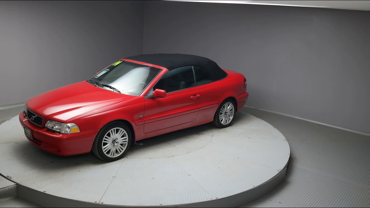 2004 passion red metallic volvo c70 convertible h197c youtube 2004 passion red metallic volvo c70 convertible h197c sciox Image collections