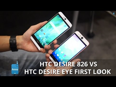 HTC Desire 826 vs HTC Desire EYE first look