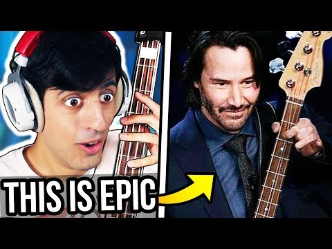 I Played Bass with Keanu Reeves...