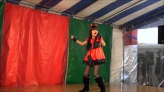 2012年12月23日の小倉井筒屋クロスロードにて、赤星 那奈.