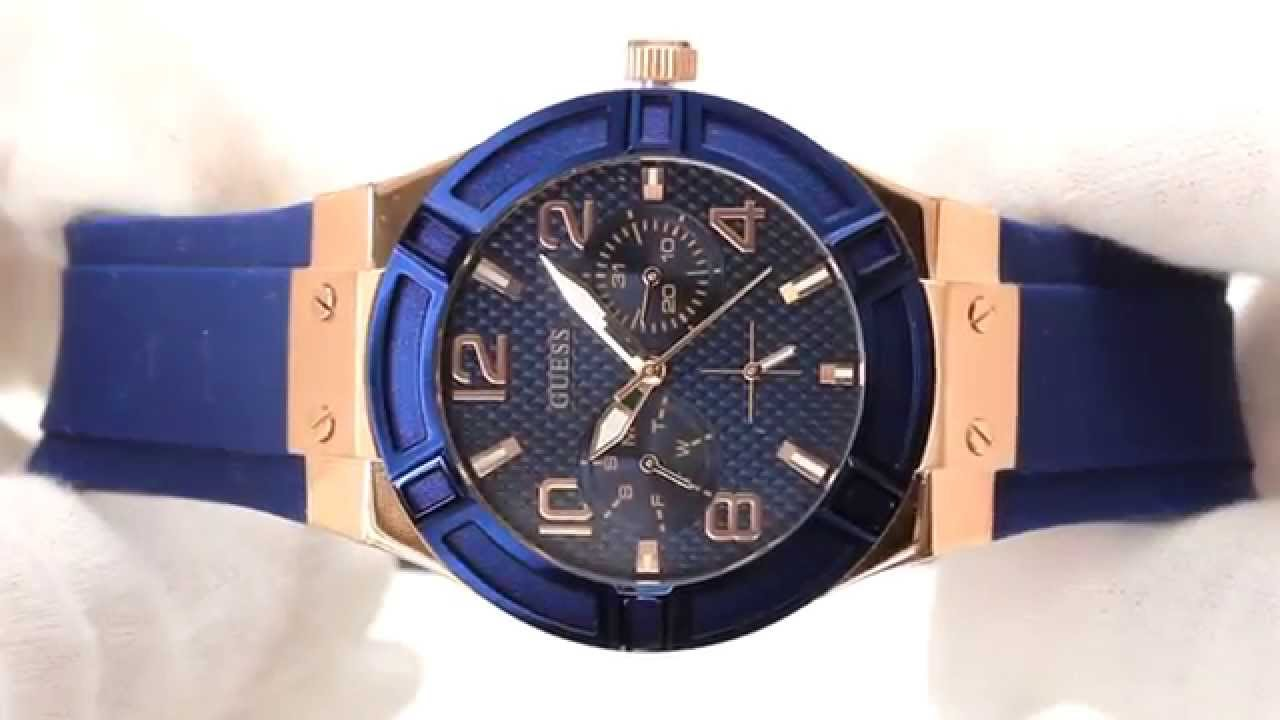 Hands On With The Women's Guess Jet Setter Rose & Blue ...