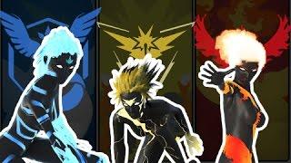 EPIC Pokemon Fight Animation  Project Legendary  Moltres Zapdos Articuno FIGHT