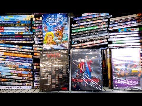 Dollar Tree $1 Blu-ray & Dvd Hunting