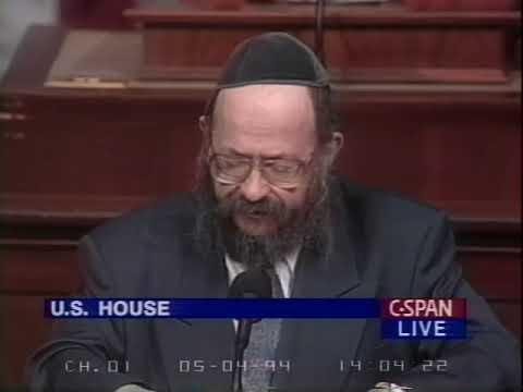 Rabbi Moshe Feller, Chabad Academy, St. Paul, MN, House guest chaplain, May 4, 1994