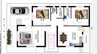 30X50 MODERN AND BEST HOUSE PLAN