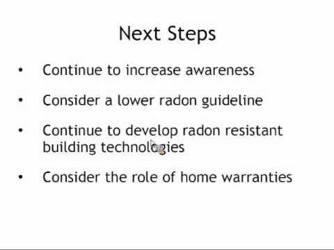 Radon in Ontario: Reducing the Burden