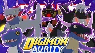 Digimon Aurity - DIGIVOLVING TO OMEGAMON ZWART X-ANTIBODY!! *NEW UPDATE* (Roblox)