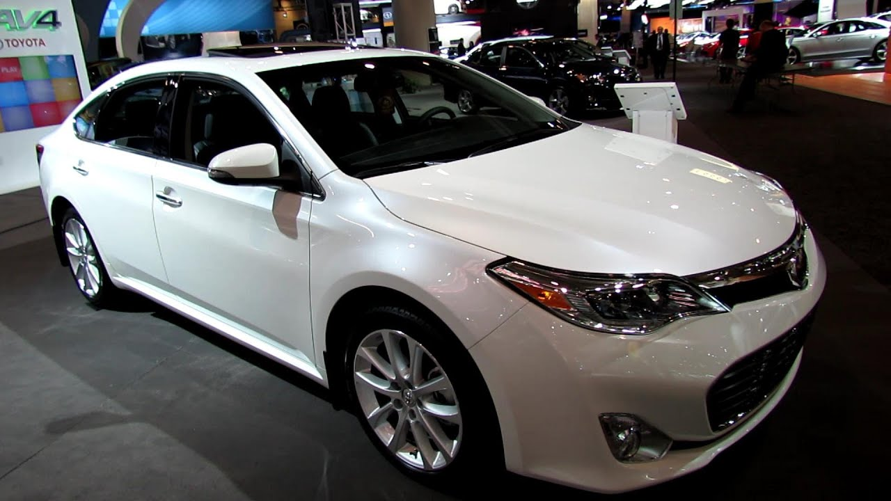 2013 Toyota Avalon Limited Exterior And Interior