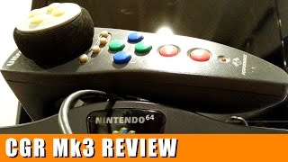 Classic Game Room - N64 ULTRARACER 64 controller review