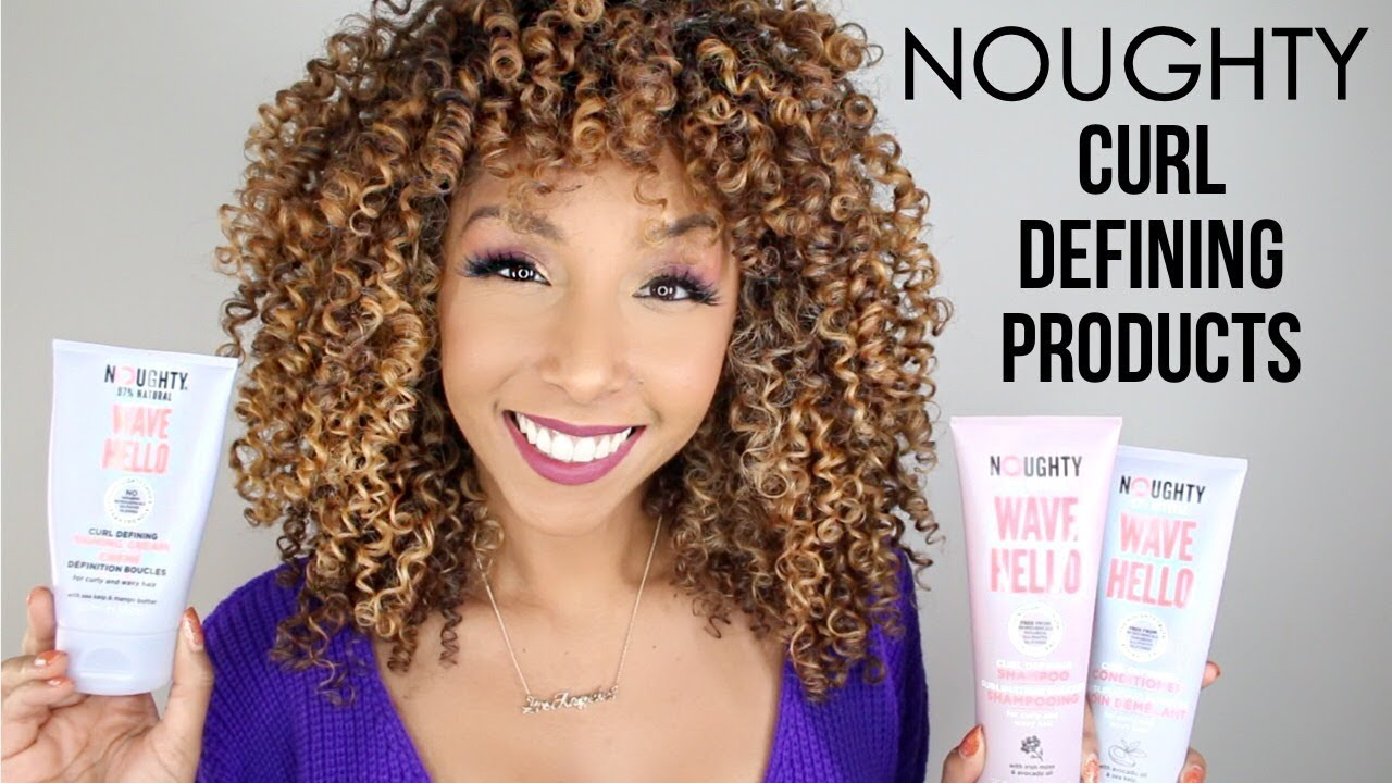 Download NOUGHTY Wave Hello  Curl Defining Hair Products!   BiancaReneeToday