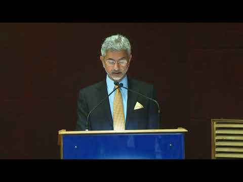 Keynote Address by Dr S. Jaishankar, Foreign Secretary, Government of India