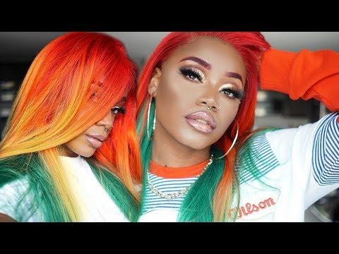 "Nicki Minaj ""Barbie Dreams"" Inspired wig | PLUS NEW bald cap method 2018 | Cexxy Hair"