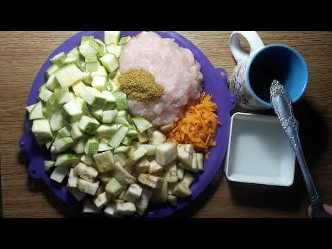 🌹Диетическое АССОРТИ с фаршем и овощами для похудения за 5 минут. Вкусное рагу. Диета Дюкана. Тутси