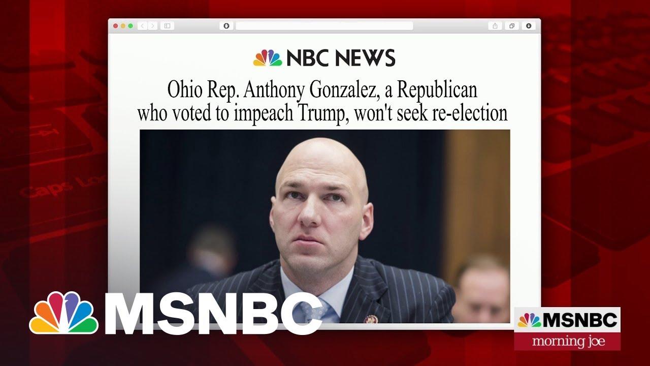 Morning Headlines: GOP Rep. Anthony Gonzalez Won't Seek ...