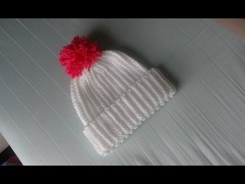 วิธีการถักหมวกโครเชต์แบบง่ายที่สุด