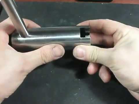 Вытягивание цилиндра --   Выдератель личин (съёмник)