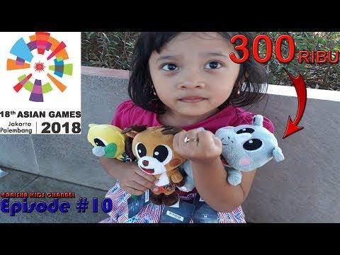 Review Maskot Asian Games 2018 3D Atung Bhin Bhin Kaka...Wowwww Lucu Bangettt...