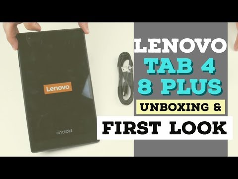 Lenovo Tab 4 8 Plus Unboxing & First Look