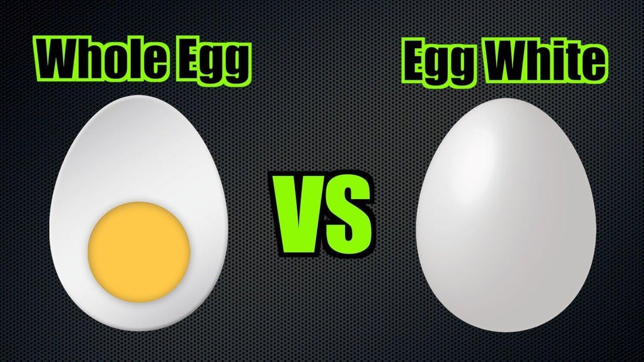 Whole Eggs Vs Egg Whites | Nutrition Battle - YouTube