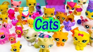 LPS Collection Tour Haul Video Bobblehead Littlest Pet Shop Kitty Cats Cookieswirlc Part 3 Toys