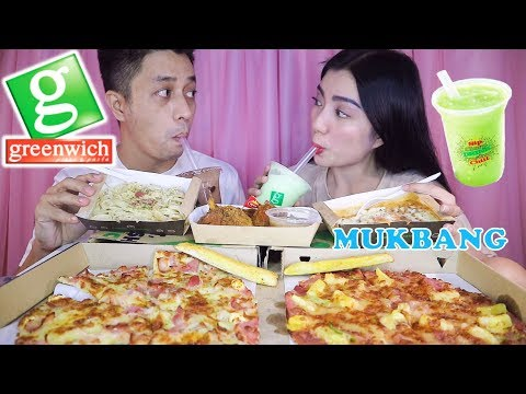 GREENWICH MUKBANG | Best Pizza Ever?!