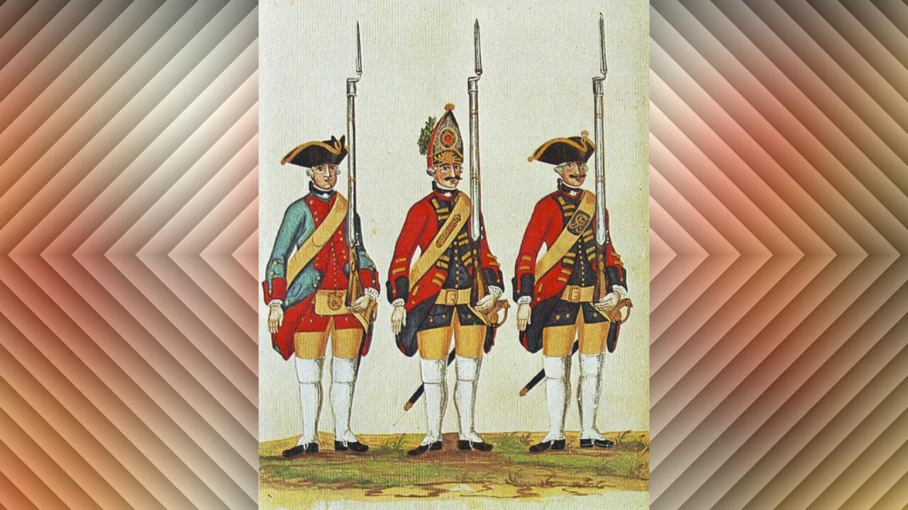 Marsch des Hannoverschen Garde Grenadier Regiments
