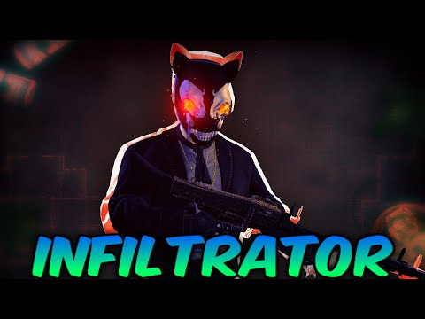 PAYDAY 2 Builds - Infiltrator (Casual Builds)  
