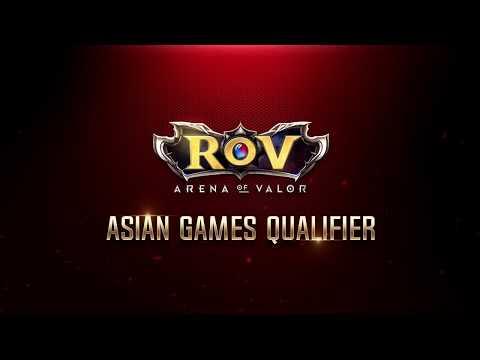 RoV Asian Games Qualifier EP2 - Chinese Taipei Vs Korea